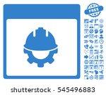 development calendar page... | Shutterstock .eps vector #545496883