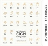 american sign language asl...