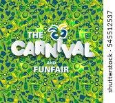 illustration of carnival from... | Shutterstock .eps vector #545512537