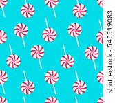 Lollipop. Seamless Pattern....