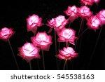 Beautiful Fabric Pink Rose...