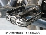 close up of black pedal | Shutterstock . vector #54556303