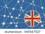 australia flag design concept.... | Shutterstock .eps vector #545567527