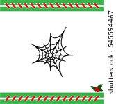 web line icon. spiderweb  web... | Shutterstock .eps vector #545594467
