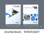 business vector. brochure... | Shutterstock .eps vector #545652607