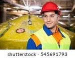 manual worker. | Shutterstock . vector #545691793
