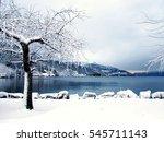 A Norwegian Fjord In Winter...