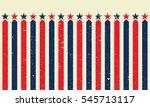 american grunge star medal or...   Shutterstock .eps vector #545713117