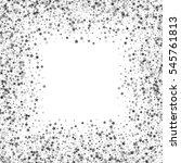 square silver frame or border... | Shutterstock .eps vector #545761813