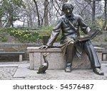 Sculpture Of Hans Christian...