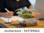 office job busy working ... | Shutterstock . vector #545789863