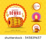 creative sale banner or sale... | Shutterstock .eps vector #545839657