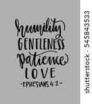 humility  gentleness patience ...   Shutterstock .eps vector #545843533