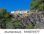 hollywood california   december ... | Shutterstock . vector #545874577