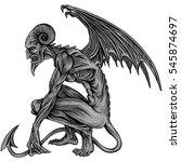 demon | Shutterstock .eps vector #545874697