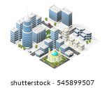 set of isolated high quality... | Shutterstock .eps vector #545899507