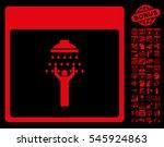 man shower calendar page... | Shutterstock . vector #545924863