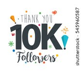 thank you design template for...   Shutterstock .eps vector #545960587