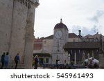 trogir  croatia   october 20 ... | Shutterstock . vector #545961493