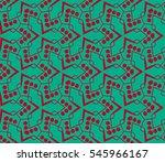 modern geometric seamless... | Shutterstock .eps vector #545966167