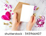 Photo Frame Or Gift Card With...