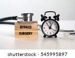 bypass surgery | Shutterstock . vector #545995897