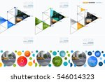 business vector design elements ... | Shutterstock .eps vector #546014323