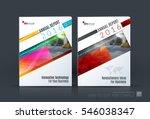 business vector. brochure... | Shutterstock .eps vector #546038347