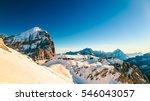 Winter In The Italian Alps ...
