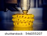 3d printer printing objects... | Shutterstock . vector #546055207