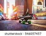 man enjoy the riding on... | Shutterstock . vector #546057457