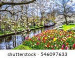 Keukenhof Park Of Flowers And...