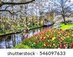 Keukenhof Park Of Flowers And...