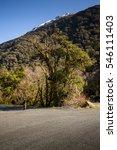 beatiful scenery along way to... | Shutterstock . vector #546111403