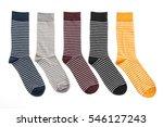 pair of socks for clothing... | Shutterstock . vector #546127243