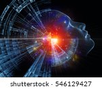 profiles of technology series.... | Shutterstock . vector #546129427
