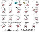 chick talk   Shutterstock .eps vector #546141097