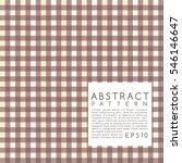 fabric pattern. plaid. vector... | Shutterstock .eps vector #546146647