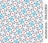 sloping melting seamless... | Shutterstock . vector #546152803