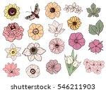 flower set | Shutterstock . vector #546211903