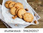 Homemade Almond Cookies On...