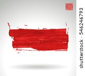 brush stroke and texture....   Shutterstock .eps vector #546246793