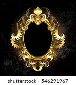 oval jewelry banner framed... | Shutterstock . vector #546291967