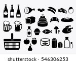 food. the food and drinks. the... | Shutterstock .eps vector #546306253