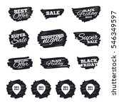 ink brush sale stripes and... | Shutterstock .eps vector #546349597