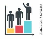 chart icon | Shutterstock .eps vector #546357403