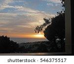 Small photo of Greek island sunset
