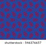 modern geometric seamless... | Shutterstock .eps vector #546376657