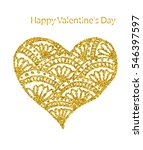 greeting card for valentines... | Shutterstock .eps vector #546397597