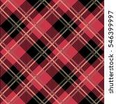 tartan seamless vector patterns ... | Shutterstock .eps vector #546399997
